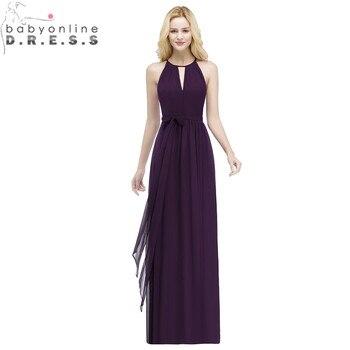 0cbada5eb7cc Babyonlinedress Высококачественные Красивые Платья Фиолетового Цвета С  Лямкой На Шее ...