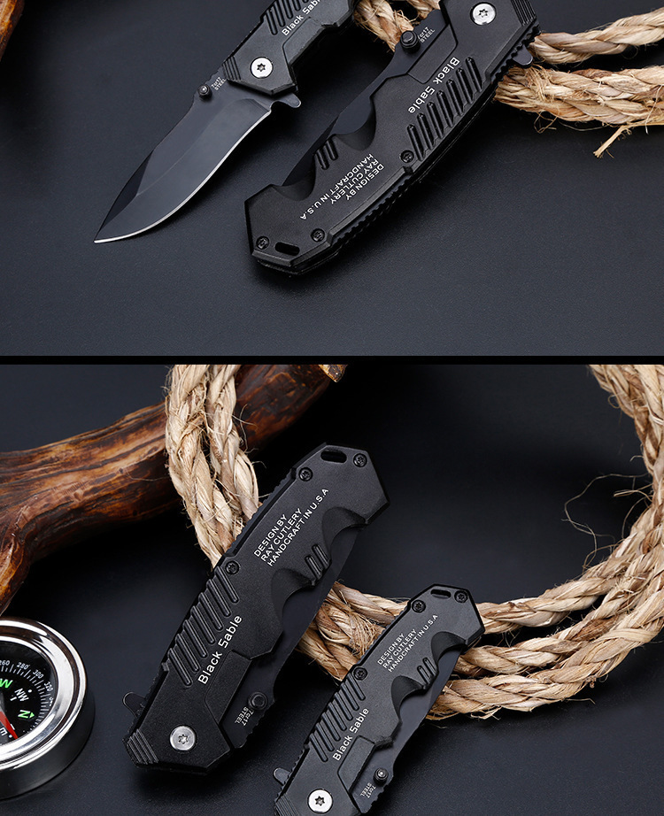 Folding Tactical Knife For Camping & Hunting 14