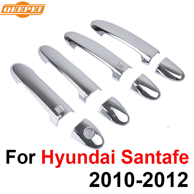 2011 Hyundai Santa Fe Exterior: QEEPEI 8PCS Exterior Door Handle Covers For Hyundai