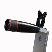 Universal Clip На 12X Телеобъектив Мобильный Телефон Оптический Зум Телескопа Камеры Для iPhone Samsung HTC xiaomi