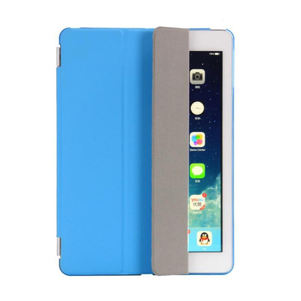 Apple iPad Hava Case PU Dəri Maqnetik Ön Ağıllı Qapaq + iPad Air - Planşet aksesuarları - Fotoqrafiya 5