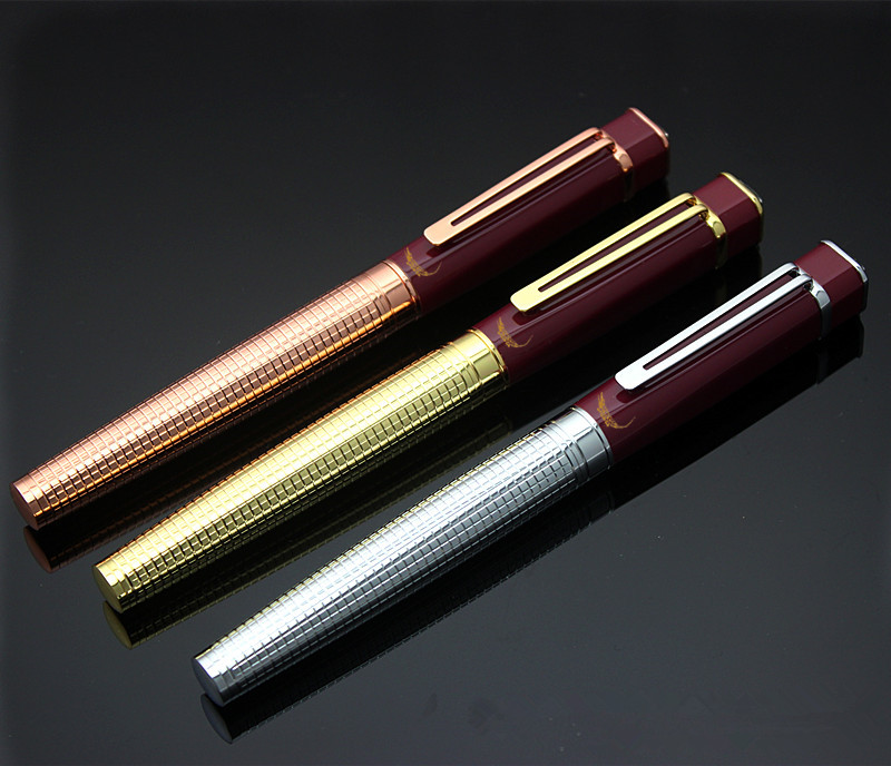 Crocodile Diamond Star Top Black resin Roller Ball Pen stationery office business luxury brand writing gift ball pens jinhao rare golden double dragon pattern roller ball pen luxury stationery school office supplies brand writing gift pens