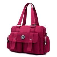 Women Messenger Bag Vintage Travel Fashion Ladies Waterproof Solid Nylon Crossbody Bags Bolsas Femininas Female Shoulder