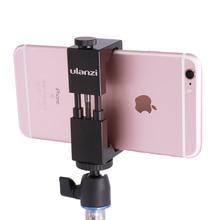 Smartphone Tripod Mount – Ulanzi IRON MAN Aluminum Metal Universal Smart Phone Tripod Adapter ,Stand Size (2.1″ to 3.6″)