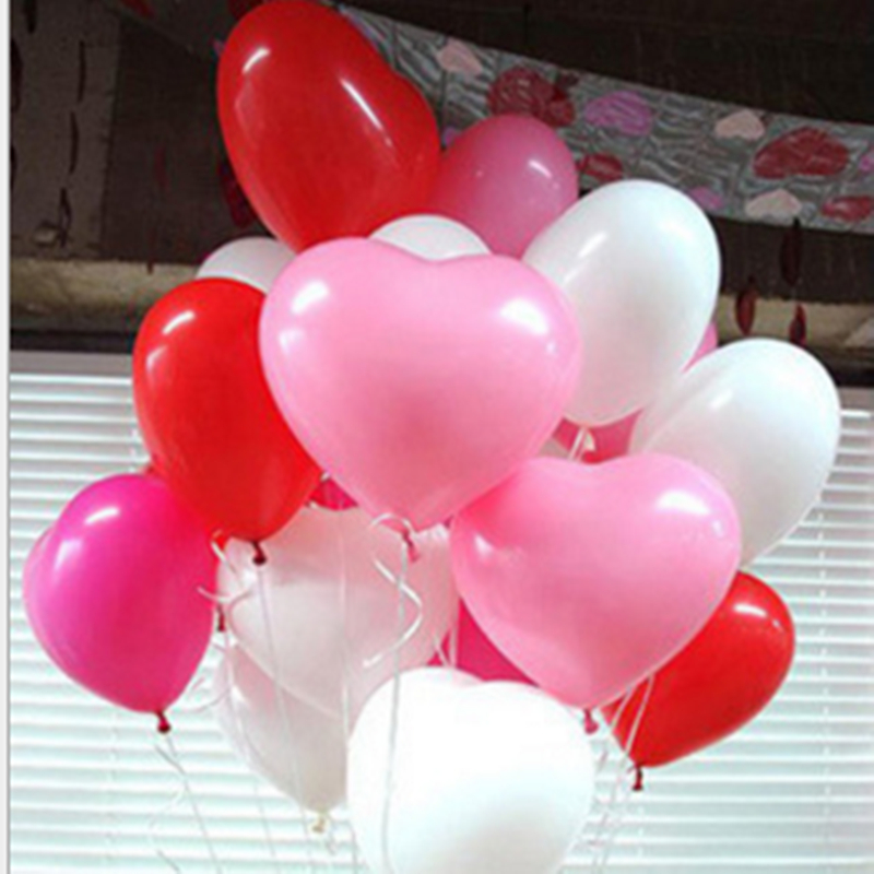 Free shipping 10pcs/Lot 10inch Heart Latex Balloon Air Balls Inflatable Balloons Wedding Party Decoration Floating Toy Ball free shipping oxford material wedding party decoration inflatable the photo booth