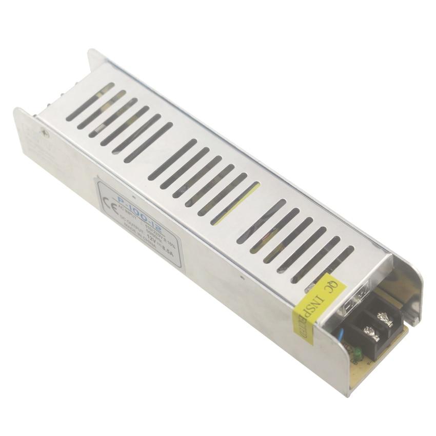 Aluminum case led power supplys led driver 100W 12V 8.3A led electronic transformer for led strip
