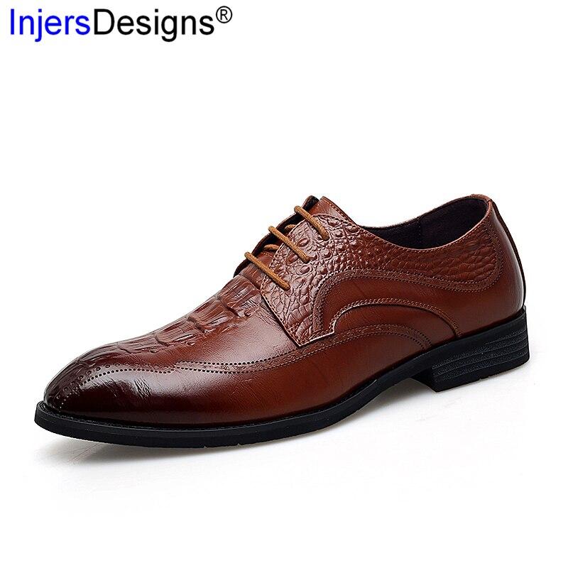 Vestem 38 Homens Da Tamanho Genuíno Sapatos Relevo Qualidade Do Zapatos De up 44 Marca Formal Black Em Brown Negócios Se Hombre red Moda Couro Lace wwR5rqF