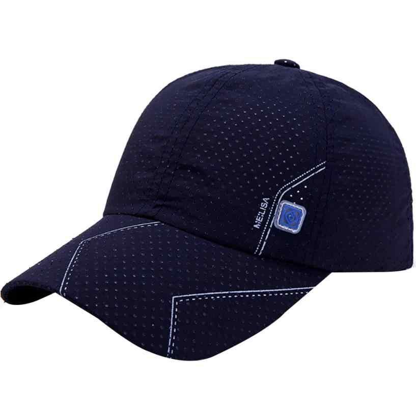 d3bea9ddb Newly Men Tennis Caps Baseball Sunscreen Hats Snapback Hat Hip-Hop  Adjustable Caps