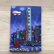 F253 HONG KONG AIMANT POUR LE FRIGO HONG KONG VINTAGE TRAVEL PHOTO REFRIGERATOR MAGNET