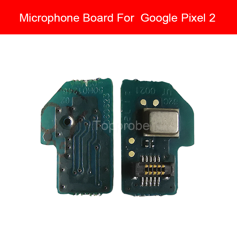 100% Genuine MIC Microphone Board Module For Google Pixel 2 Pixel2 Microphone Board Flex Cable Replacement Parts