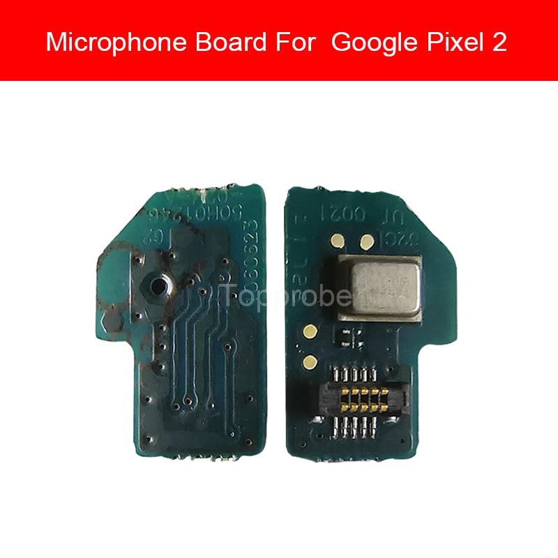 100% Genuine MIC Microphone Board Module For Google Pixel 2 Pixel2 Microphone Board Flex Cable Replacement Parts