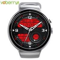 Voberry I4Air Смарт часы es 2 г + 16 полный круг Wi Fi сердечного ритма платить gps Смарт часы с камерой для мужчин водонепроницаемые часы на системе Android