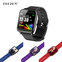 FREZEN Sport Smart Wristband Z02 Heart Rate Health Monitor Bracelet Social Sharing Remote Camera for IOS Android Mobile Phone