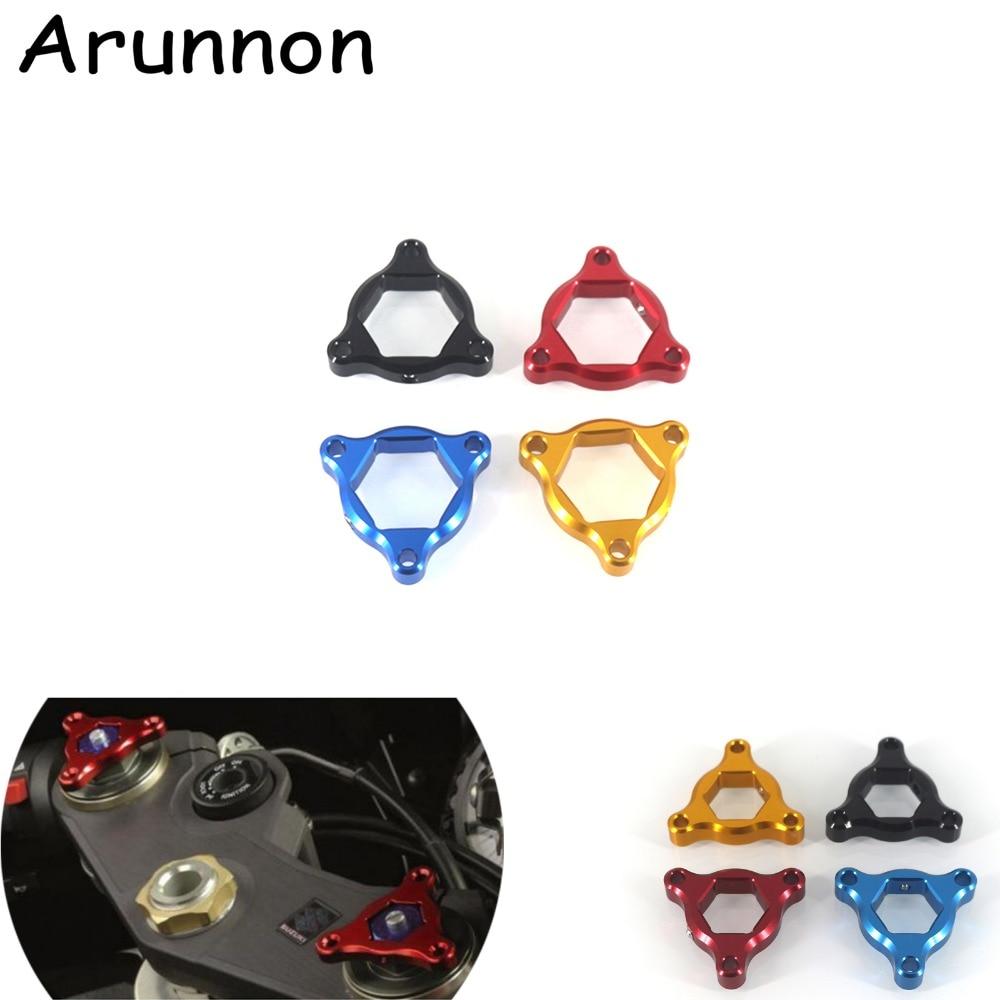 Arunnon For DUCATI Steetfighter 1198 848 1098 999 749 Hypermotard 1100/S/EVO Motorcycle 22mm Suspension Fork Preload Adjusters