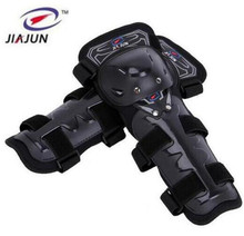 JIAJUN 4pcs Promotion Motocross Equipment Knee Protection Gear Motorcycle Guards Cyclegear Elbow & Pads Protectors