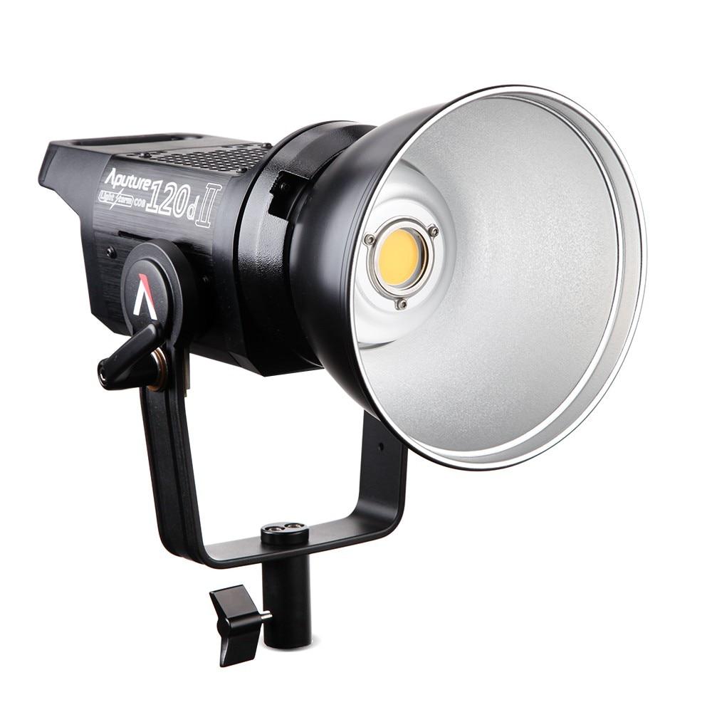 Aputure LS C120d 120D II Daylight 180W LED Continuous V-Mount Video Light CRI96+ TLCI97+ Studio LED Lighting for Video Studio aputure ls c300d ls c120d cob chip light tlci cri 96 professional shooting filming light outdoor led studio light v mount