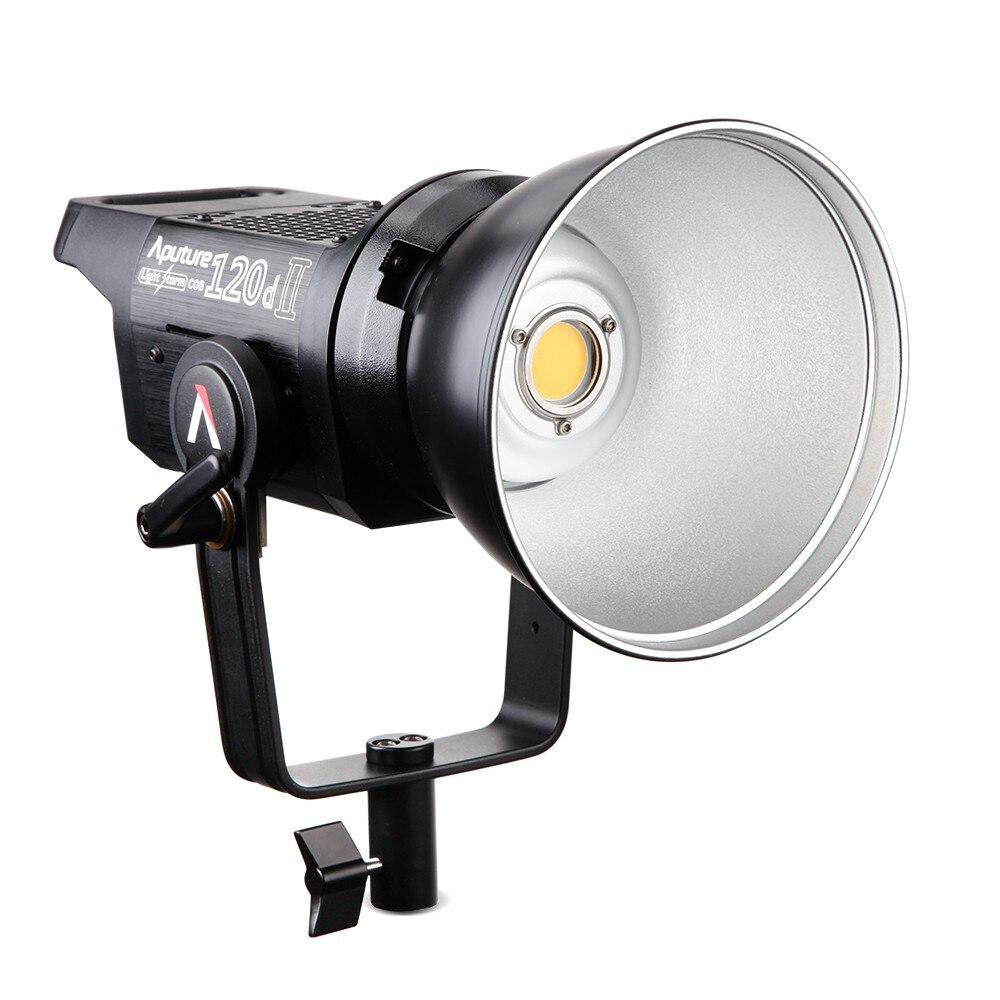 Aputure LS C120d 120D II luz diurna 180 W LED Luz de vídeo continua de montaje en V CRI96 + TLCI97 + Estudio iluminación LED para estudio de vídeo