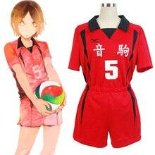 Кошмарным! Nekoma средняя школа#5 1 Kenma Kozume Kuroo Tetsuro косплей костюм Haikiyu Volley Ball команда джерси спортивная форма