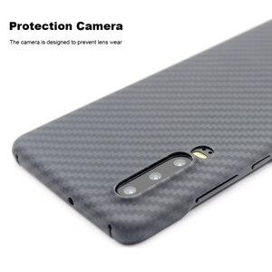Image 2 - 화웨이 p30 케이스에 대한 고급 탄소 섬유 케이스 화웨이 p30 프로 케이스에 대한 매트 아라미드 섬유 0.7mm 울트라 얇은 매트 전화 커버