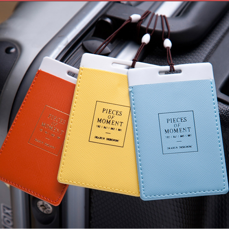 Popular Luggage Tag Labels Portable Suitcase Bag Tag Mixproof Security Z450