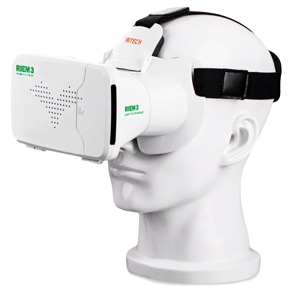 Ritech RIEM3 III Version 3D VR Box Glass Virtual Reality Head Mount Rift With AR Google Cardboard for 4.0-6.0 inch Phone