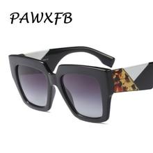 Pop Age New Italy Brand Square Oversized Sunglasses Women Retro Designer Celebrity Female 3 Colors Sun Glasses Eyeglasses