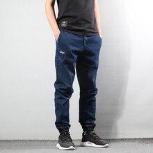 Autumn Winter Fashion Men Jeans Vintage Designer Joggers Denim Cargo Pants Harem Trousers Japanese Style Classical
