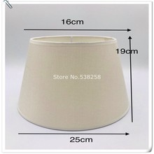 E27 Art Deco Lamp shades  for table lamps pvc  beige fabric lampshade round lamp shade modern style lamp cover for desk lamp table lamp shade cover floor lamp cover shade fabric lampshade light cover