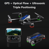 Dron teledirigido profesional con cámara 2K y WIFI, Drone cuadricóptero con Motor sin escobillas, flujo óptico, WIFI, FPV, B4W, 1600M, VS X8