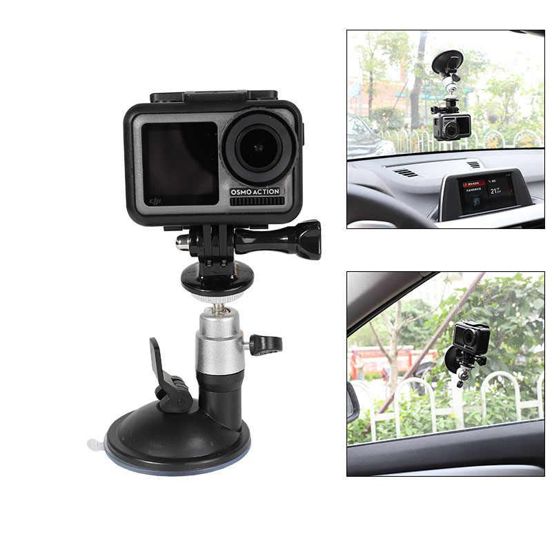 Крепление на присоске с шаровой головкой для DJI Osmo Action GoPro Hero 7 6 5 4 крепление на окно sony Yi 4 K SJCAM eken Arlo камера автомобильный держатель