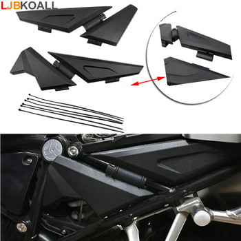 For BMW R1200GS LC  R1200 GS LC ADV Adventure 2014 2015 2016 2017 2018 Motorcycle Side Frame Panel Guard Protector Cover Black Мотоцикл