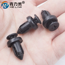 auto Fender Bumper Radiator Grille Clips Retainer Rivet Fastener for honda 100pcs/lot Free shipping!