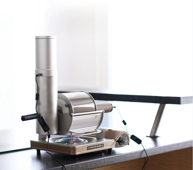 Chicco di caffè torrefazione glaster casa diritto di fuoco per il caffè di torrefazione piccolo negozio di caffè uso girarrosto 500g chicco di caffè torrefazione