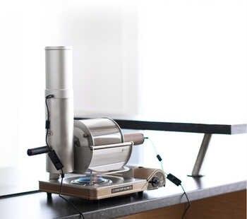 Torréfacteur de grains de café glaster maison feu droit café torréfacteur petit café utilisation torréfacteur 500g torréfacteur de grains de café