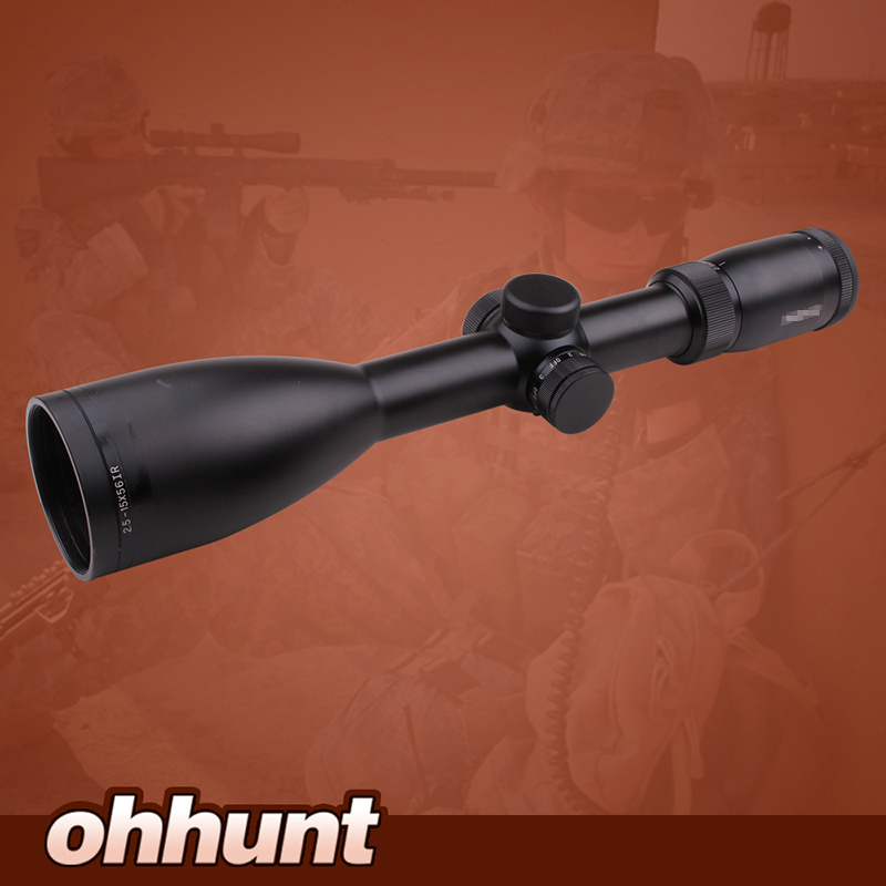Imitation Swarovskl 2 5 15x56 IRZ3 Riflescope F15 Red Dot Reticle font b Hunting b font