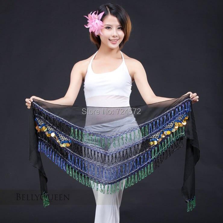 794d718d5011c Oryantal dans kostüm kıdemli için mısır boncuk kalça eşarp oryantal dans  kemeri