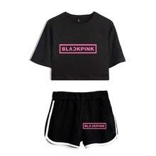 BLACKPINK Crop Top & Shorts Set (24 Models)