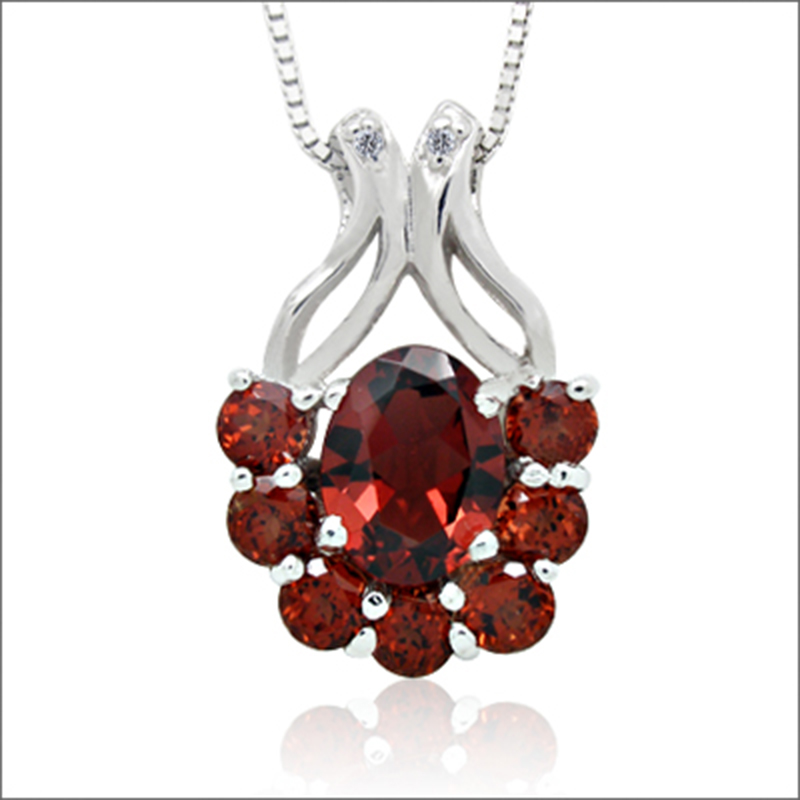 2017 Collier Qi Xuan_Dark Red Stone Simple Pendant Necklace_Real Natural Necklace_Quality Guaranteed_Manufacturer Directly Sale 2017 Collier Qi Xuan_Dark Red Stone Simple Pendant Necklace_Real Natural Necklace_Quality Guaranteed_Manufacturer Directly Sale