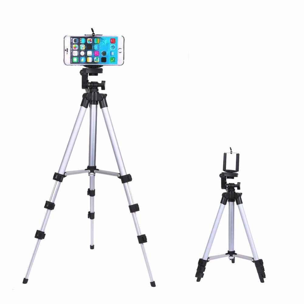 Professionelle Kamera Stativ-halterung Digitalkamera + Tisch/PC Halter + Handyhalter + Nylon Tragetasche Für iPhone Samsung