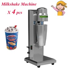 4pcs/lot Hot Sale Stainless Steel Blender Soft Ice Cream Mixer Milkshake Machine-A1