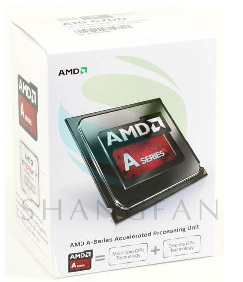 NEW AMD A10 6700 A10 6700K 3 7Ghz 65W Quad Core CPU Processor AD6700OKA44HL Socket FM2