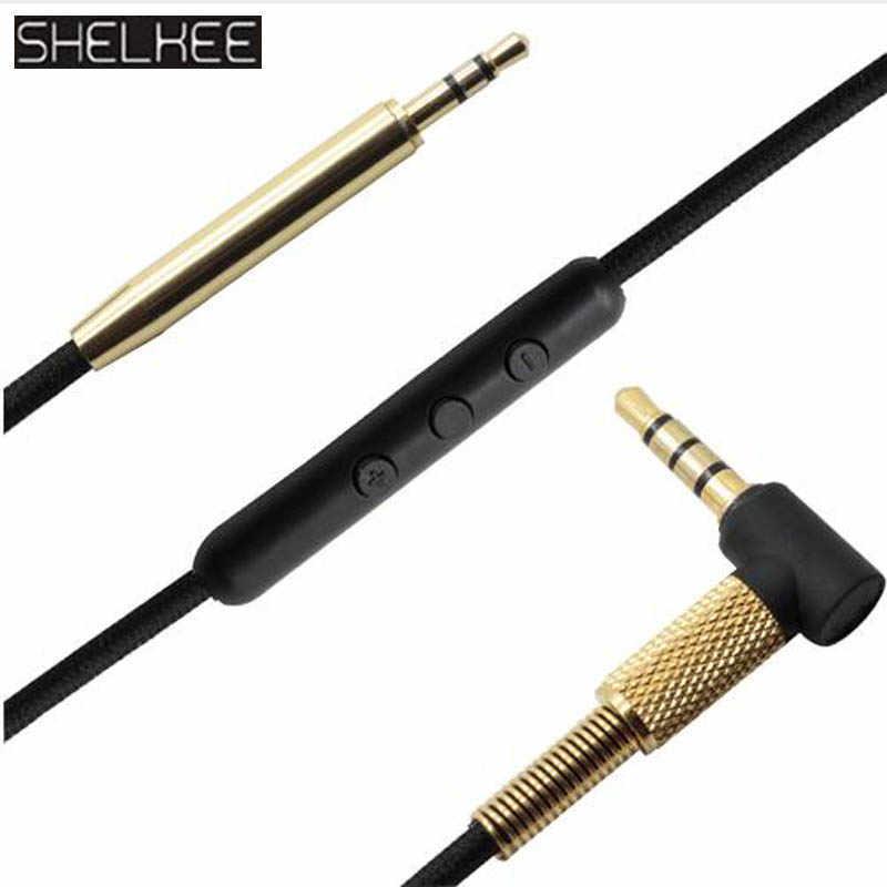 SHELKEE мужской аудио кабель 3,5 мм до 3,5 мм для Beats Solo 3/Solo 2 Studio 2,0/Studio 3 Mixr от dr. dre для наушников