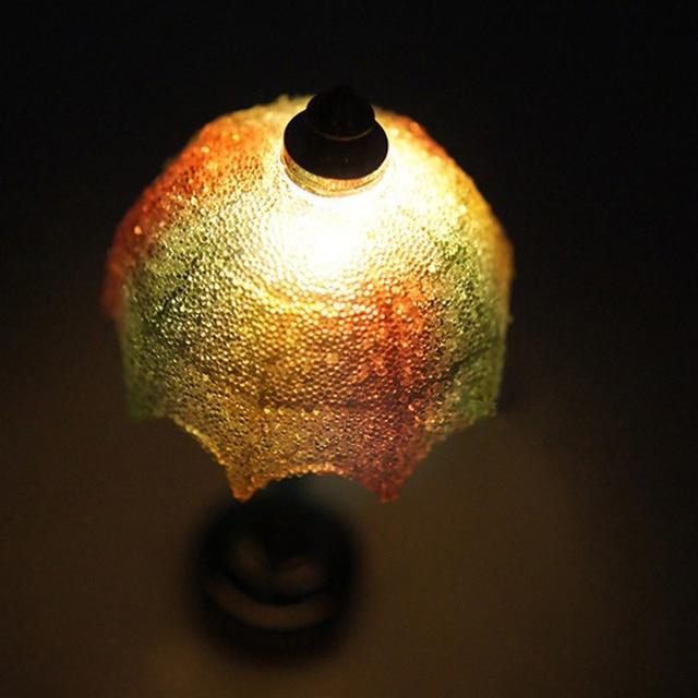 112 schaal vintage miniatuur poppenhuis lampen tafel led licht draad gratis verlichting fantasiespel speelgoed