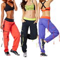 2016 Fitness Weight Loss Fitness pulley ribbon dance pants trousers slightly elastic super comfortable men and women