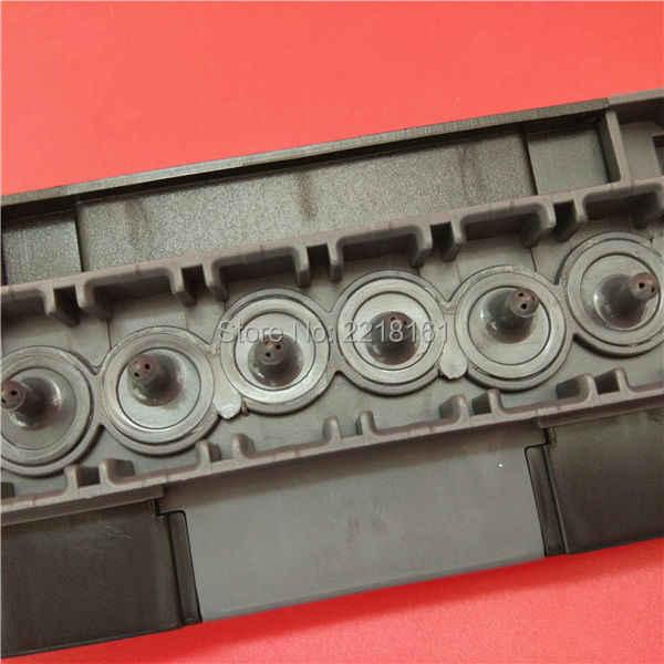 2 pcs Eco pelarut printer Mutoh DX5 kepala adapter sampul untuk Mutoh VJ1204/1304/1604/1608 Mimaki JV33 JV5 DX5 Allwin Xuli manifold