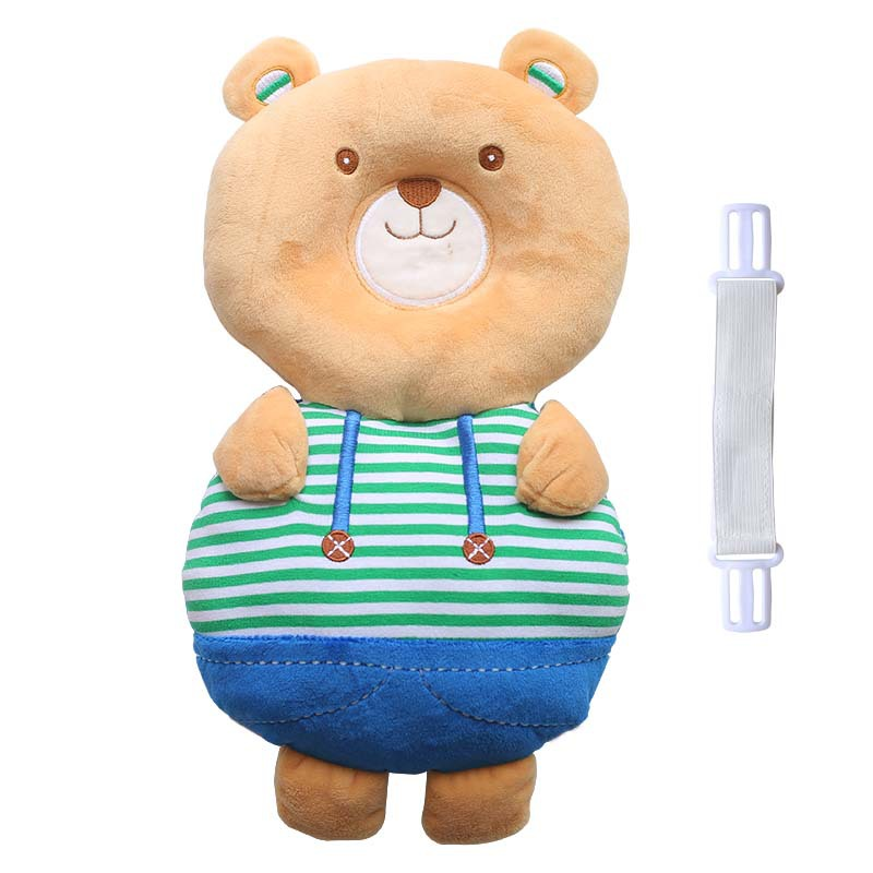 Cartoon Animal Plush Infant Toddler Neck Protection Pillow Nursing Drop Resistance Cushion Baby Toys Maternity Nursing Pillow
