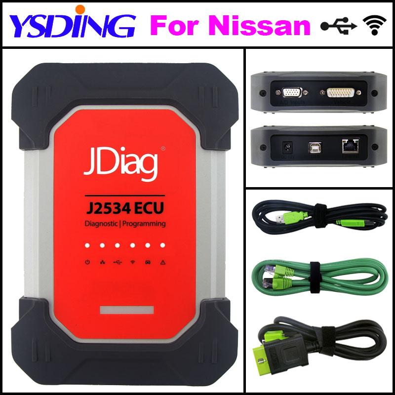 Car Auto Diagnostic Tool JDiag Elite II pro JDiag Elite II Diagnostic&ECU Programmer tool JDiag J2534 For Nissan портативные колонки partner globe