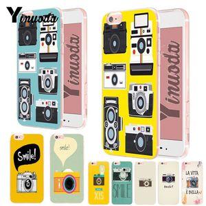 Yinuoda камера Smile хит продаж модный дизайн тонкий чехол из ТПУ для iPhone 6S 6plus 7 7plus 8 8Plus X XS XR XsMax 5 5S