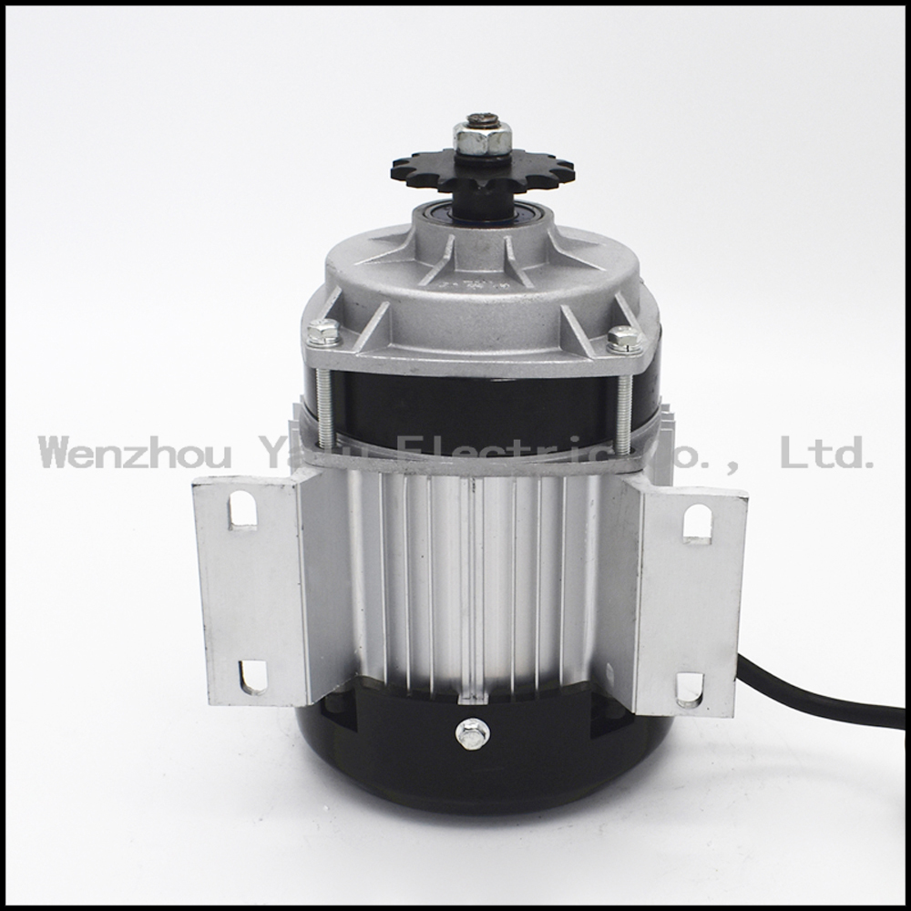 Купить с кэшбэком Electric tricycle brushless motor tricycle modified BM1418ZXF500W 36V/48V mid electric motor