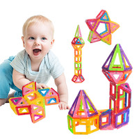 Mini 108 PCS DIY Set Magnetic Building Blocks Toys Inspire Adult Kids Educational Construction Designer Toy